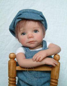 Коллекционные куклы младенцы Kim van de Wetering