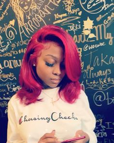 """9,044 Likes, 167 Comments - @arrogant_tae123 on Instagram: """"Full lace wig installment ❤️ on @amourjayda  colored cut n styled by me"""""""