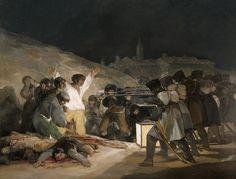 Goya: El tres de mayo de 1808 en Madrid.