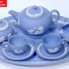 4:00 Tea...Wedgewood...Stunning, classic tea set!