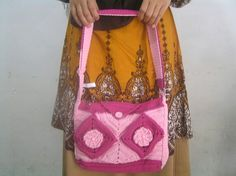 Pink by Tessah Four Square, Shoulder Bag, Reading, Books, Pink, Fashion, Moda, Libros, Fashion Styles