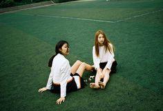 [Editorial of 1986 film] Girls on film with 모델 김진경 & 모델 박선하 (HEICH ES HEICH,1986film ,필름사진,에디토리얼) : 네이버 블로그