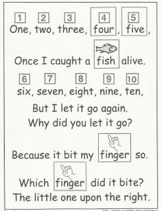 Humpty dumpty nursery rhyme theme and literacy activities for Once i caught a fish alive