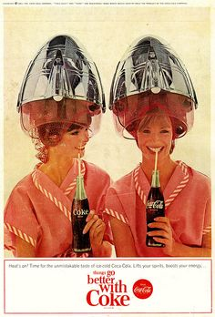 Recently we had posted article about vintage Pepsi Cola advertising. Most of us are well aware about the Cola War. So we thought it would be a great idea to share some of vintage Coca Cola ads also…