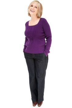 jeans and sweater outfit. Find jewelry at roxann7-.kitsylane.com