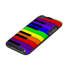 Rainbow Keyboard Ipod Touch Case