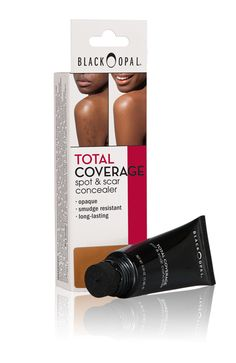 TOTAL COVERAGE:  Spot & Scar Concealer is ultra-pigmented and maximum coverage to cover and camouflage virtually any imperfection, mark or flaw on your body or face.  It's available in your made to match shade with a desirable matte finish.  For all skin types