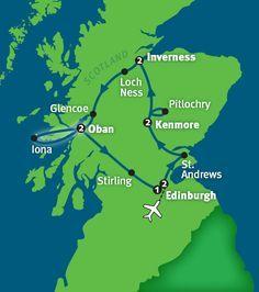 Rick Steves' Best of Scotland itinerary