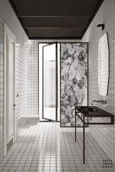 Barcelone / Un appartement designé pat Katty Schiebeck /