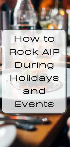 Doing the Paleo autoimmune protocol (AIP) is tricky in itself- it's a tough diet. When you throw in the temptations, frequent social gatherings, and guilt trips that come along with the holidays, it gets especially interesting. In this guide, I'll cover some strategies to help get you through successfully. #aip #autoimmuneprotocol #holidays #aipsnacks #glutenfree #grainfree #aiptravel #aipholiday #aipholidayrecipes Paleo Autoimmune Protocol, Rheumatoid Arthritis Diet, Veggie Snacks, Guilt Trips, Paleo On The Go, Holidays And Events, Glutenfree, How Are You Feeling, Cover