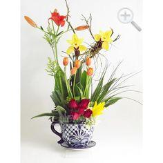 Floreria - Flores Elegantes de Mexico arreglo exotico con colorido