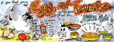 Egg & Tomato Beijing Style.  This is a super cool web site featuring illustrated recipes.