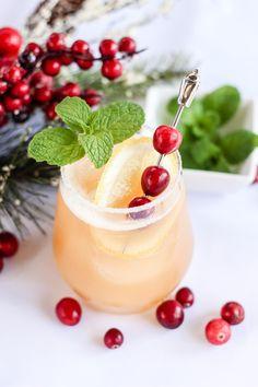 Cranberry Mint Cocktail