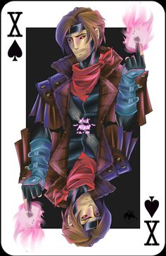 Gambit- the reason I wanted to be Rouge!!!