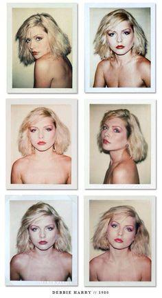 Debbie Harry by Andy Warhol *