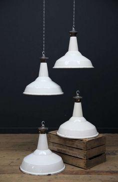 1stdibs | White Industrial Lights