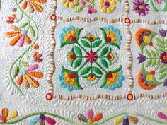 detail Aunt Millie's Quilt = love!