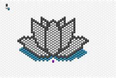 #lotus #Miyuki #peyote #brickstitch