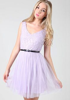 Pretty Dress. I love the lace and the color is so pretty!