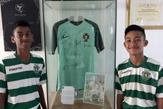 Football: Singapore teens undergo training stint at Portuguese club Sporting Lisbon, Football News & Top Stories - The Straits Times  ||  SINGAPORE -A group of Singaporean youngsters, aged 8-16, trained at the Sporting CP Soccer Academy - the famed youth system of Sporting Lisbon that produced flamboyant players like Cristiano Ronaldo, Nani, Luis Figo and Ricardo Quaresma…