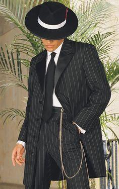 Very stylish Zoot Suit.