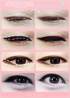 ulzzang makeup!!!!!  #asian #ulzzang #makeup #asianculture #koreanculture