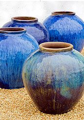 Hottest Pic blue Ceramics pots Style large blue pots in landscape Large Flower Pots, Ceramic Flower Pots, Ceramic Pots, Glazed Ceramic, Large Pots, Pottery Pots, Glazes For Pottery, Ceramic Pottery, Glazed Pottery