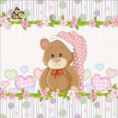 Cute floral border with baby card vector 04 - https://www.welovesolo.com/cute-floral-border-with-baby-card-vector-04/?utm_source=PN&utm_medium=wcandy918%40gmail.com&utm_campaign=SNAP%2Bfrom%2BWeLoveSoLo