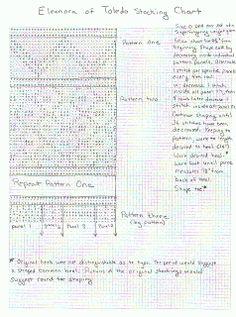 Georg's Research: Eleanor of Toledo Socks