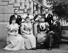 Invitados a la boda de Victoria Melita y Ernest Louis de Hesse