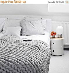 Sale 20% OFF Ohhio's Grande Punto Large blankets. Chunky