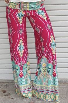 DIAMOND'S DELIGHT LOOSE FIT PANTS - The Cotton Candy Boutique - I'm obsessed with palazzo pants right now