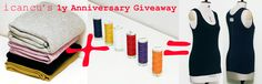i can cu turns ONE!  come and celebrate and win a Hand stitched Tank Top especially made for you!
