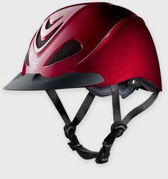 Troxel's Liberty - Low Profile Schooling Helmet... in RED...