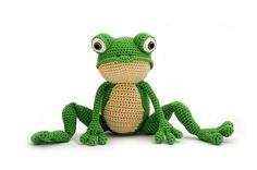 Ravelry: Fritz the Frog pattern by Vera - YukiYarnDesigns