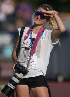Polish sports photographer and Sony ambassador