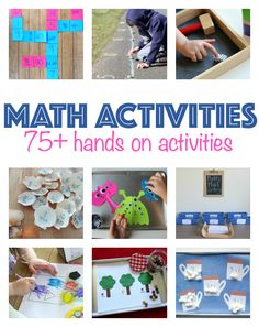 No Time For Flash Cards has great math activities for kids !