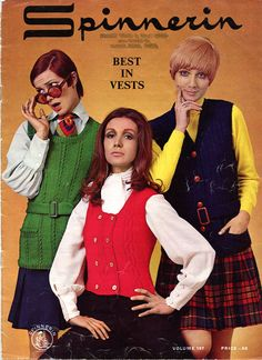 Best in Vests from Spinnerin  Volume 197 knitting  Craft