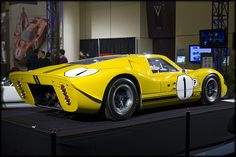 Ford GT40, Yellow