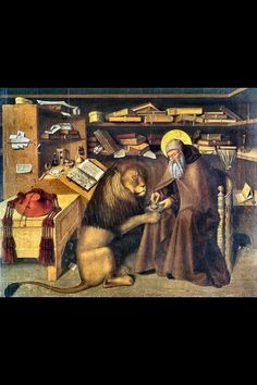 Niccolò Colantonio, St. Jerome in His Study (ca. 1445)
