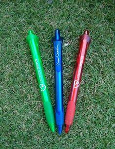 Bolígrafos personalizados para ONG.