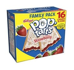 Kellogg's® Pop-Tarts® Frosted Strawberry toaster pastries are Made For Fun! Fully baked and ready to eat right from the box. Gourmet Recipes, Snack Recipes, Snacks, Pop Tart Flavors, Mario Party Games, Animal Crossing Plush, Eat Right, Pop Tarts, Frost