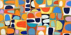 Gordon Hopkins 3/22 - Untitled - Oil on linen - 150cm x 90cm