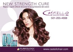 Come and purchase this amazing line of Pureology! It will make your hair strong and healthier, even for the damaged hair including heat or mechanical damage, environmental damage and chemical or color damage. This product will make your hair feel new and luxurious. Plus if you buy these products at least two of them you will get the color fanatic as a complimentary gift!