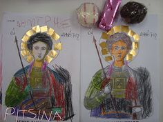Pitsina - Η ΠΕΡΗΦΑΝΗ ΝΗΠΙΑΓΩΓΟΣ!!! ( K. TEACHER): 28 ΟΚΤΩΒΡΙΟΥ ΣΤΟ ΝΗΠΙΑΓΩΓΕΙΟ...δραστηριότητες στην τάξη. 28th October, Fig, Crafts, Painting, School, Design, Manualidades, Painting Art