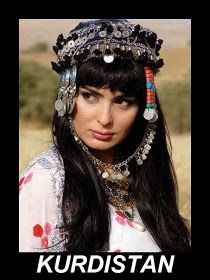 Traditional Kurdish Headwear.