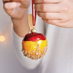 caramel apple with nuts!