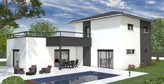 Modèles et plans de maisons > Sur mesure. Constructions Demeures Côte Argent