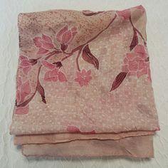 Long Pink Long Scarf floral fuchsia orchid pastel summer #PPT #pickingparadise www.etsy.com/shop/PaisleyAspirations