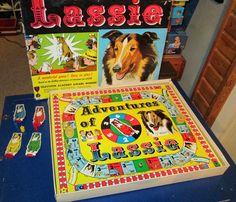Vintage Board Game Lassie Classic Cable TV Show by FriendsRetro